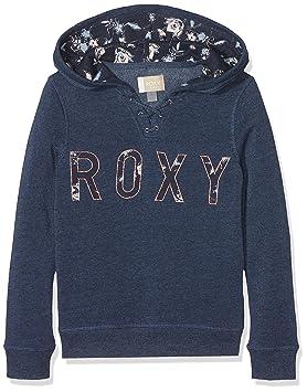 Roxy Hope You Know B Sudadera con Capucha y Cremallera, Niñas, Azul (Dress Azuls/Heather), 10/M: Roxy: Amazon.es: Deportes y aire libre