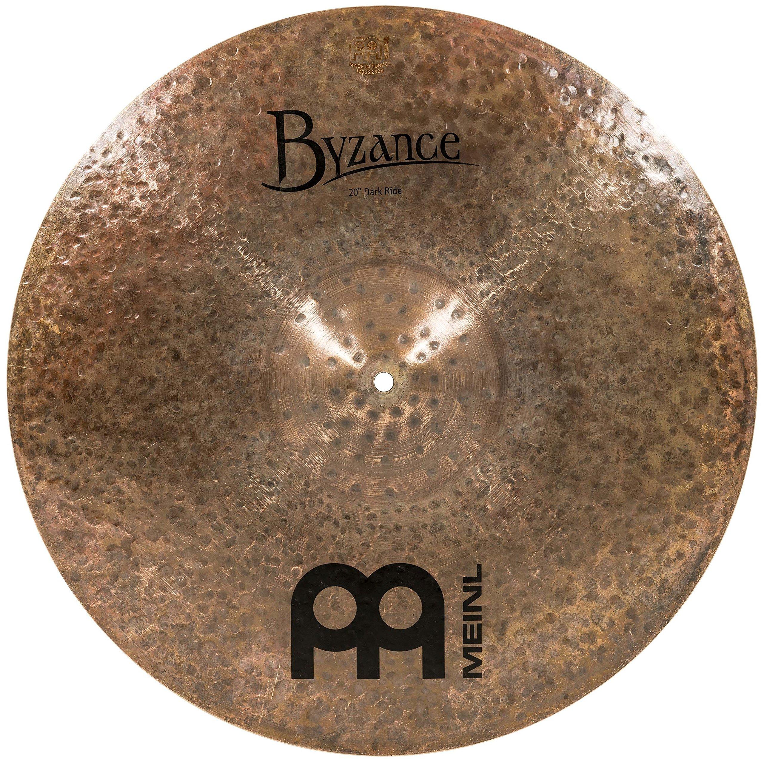 Meinl Cymbals B20DAR Byzance 20-Inch Dark Ride Cymbal (VIDEO)