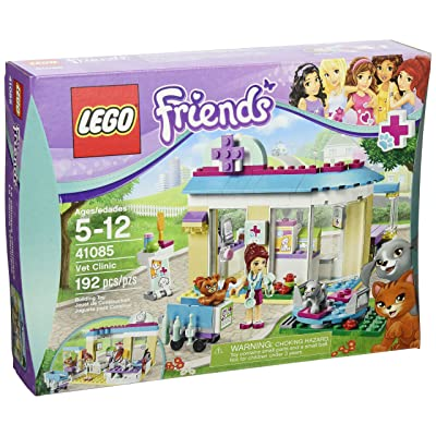 LEGO Friends 41085 Vet Clinic (Discontinued by manufacturer): Toys & Games