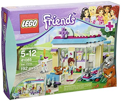 Amazoncom Lego Friends 41085 Vet Clinic Discontinued By