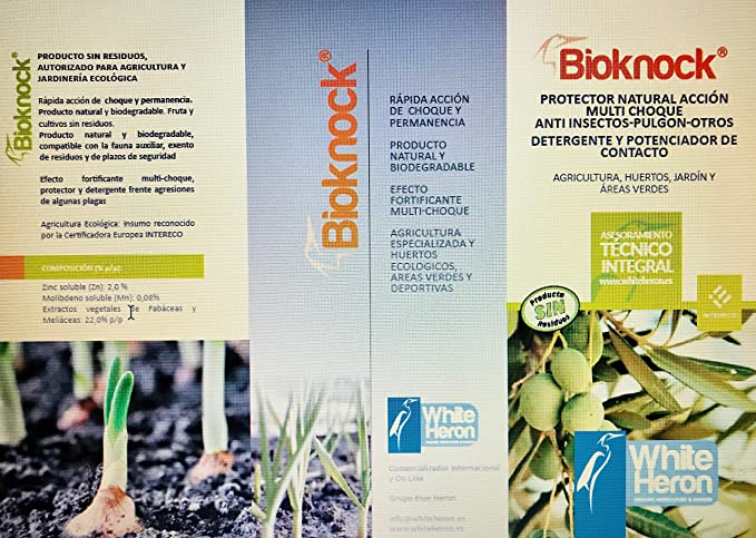 BIOKNOCK® (1.000 m2). Insectos/Oruga/Pulgón; Perfil Insecticida ...