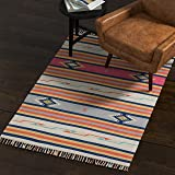 "Rivet Modern Medallion Area Rug, 5' 6"" x"