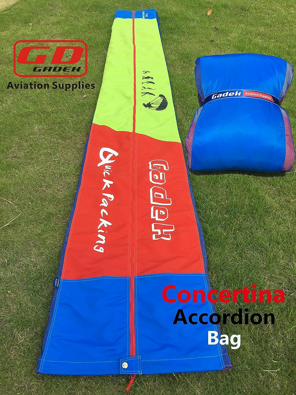 Gadek Paraglider - Bolsa de Acordeón para conciertina (2,88 m ...