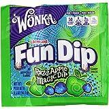 Wonka Lik-m-aid Fun Dip Candy, RazzApple Magic Dip, 0.5 Ounce, 48-Count