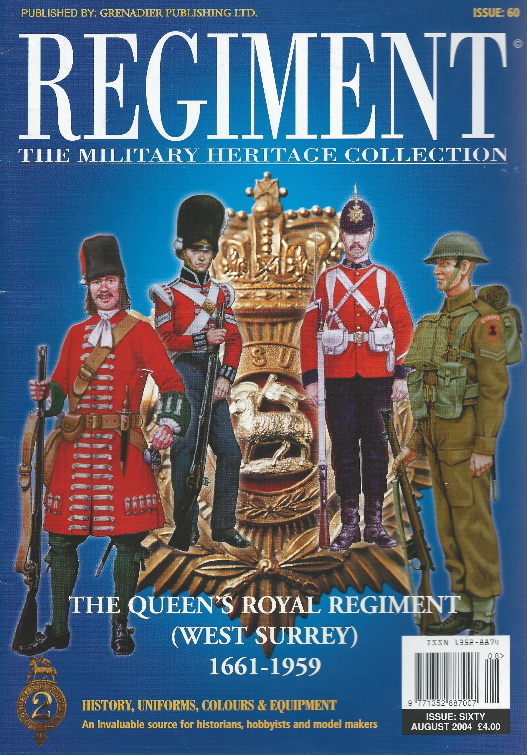 9d85ae59d6b6 Regiment  The Military Heritage Collection