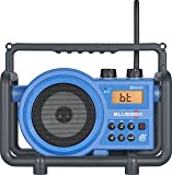 Sangean BB-100 AM/FM/Bluetooth/Aux-in Ultra Rugged Digital Tuning Rechargeable Radio