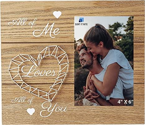 Engagement gifts. Wedding gift I am yours and you are mine photo frame Couples picture frame