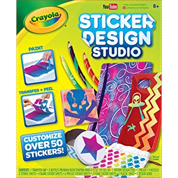 mini Crayola Sticker Design Studio