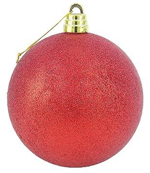 21cm mit Glitter und Pailletten zum Aufh/ängen oder Anklippen TRIXES Lila Pfauen Weihnachtsbaum Dekoration