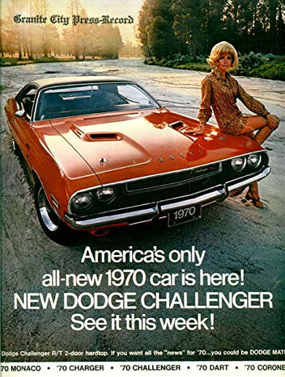 Amazon Com Old Tin Sign 1970 Dodge Challenger Vintage Classic