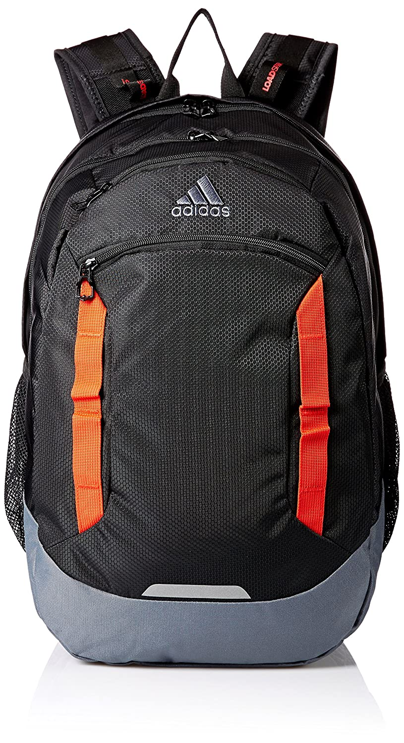 Adidas Excel IVバックパック B079D8FCZF One Size|Black/Hi-Res Red/Onix Black/HiRes Red/Onix One Size