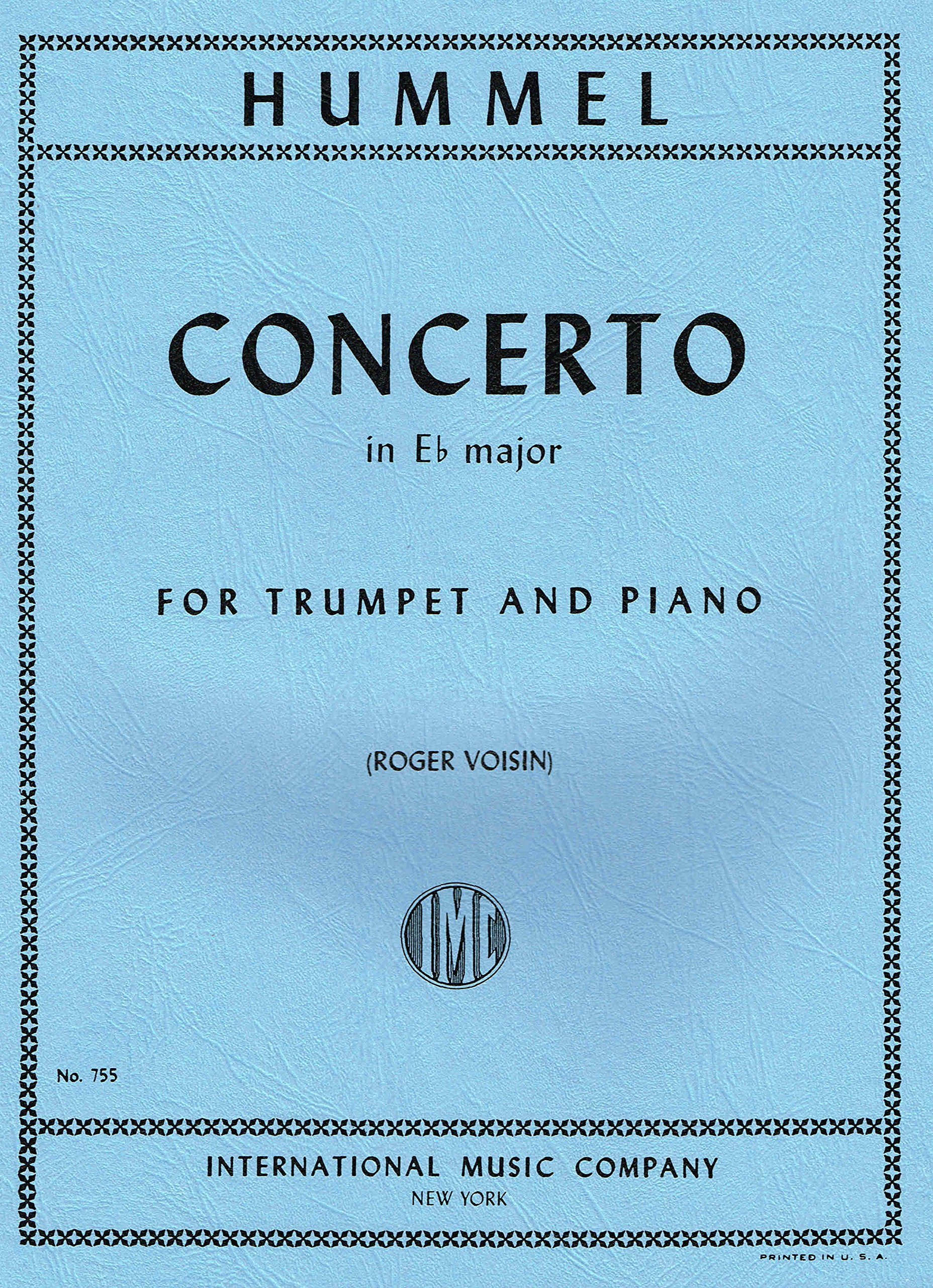 Hummel Concerto in Eb Major for Bb Trumpet and Piano