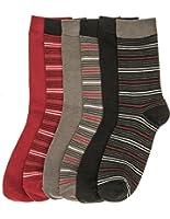 Noble Mount Womens Soft Premium Crew Socks - 6 Pairs