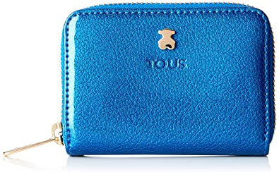 Tous Dorp - Monedero para Mujer, Azul, 10 x 8 x 2.5 cm ...