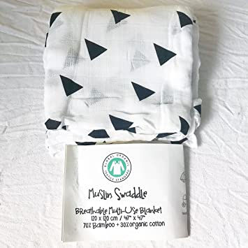 35 Baby Bamboo//Cotton Muslin Swaddle Premium Quality Super Soft Blanket-47 Color UK