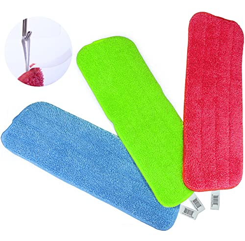 Reveal Mop Cleaning Pad Fit All Spray Mops & Reveal Mops Washable 16.5*5.11 Inches