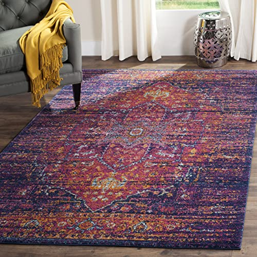 Safavieh Area Rug, 3 x 5 , Blue