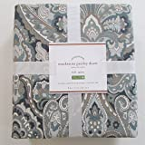 Amazon Com Pottery Barn Velet Pickstitch Full Queen Quilt Taupe