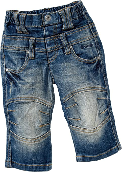 Geox - Pantalones para niño azul de 98% algodón 2% elastano, talla: 86cm (18-24 meses): Amazon.es: Bebé