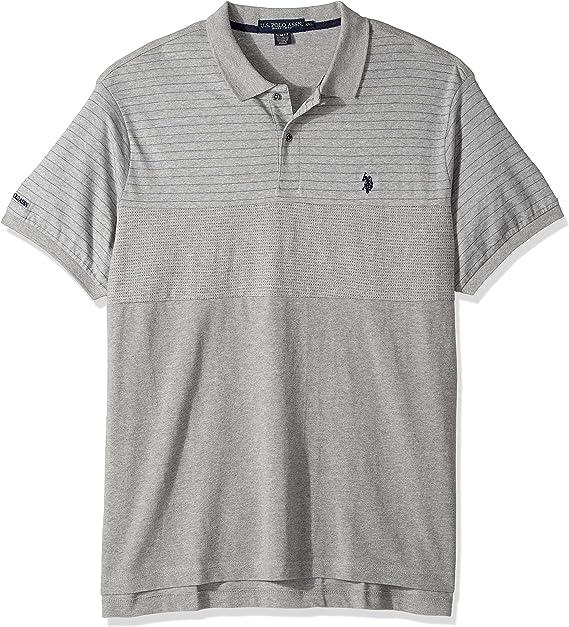 U.S Polo Assn Mens Slim Fit Short Sleeve Sport Shirt