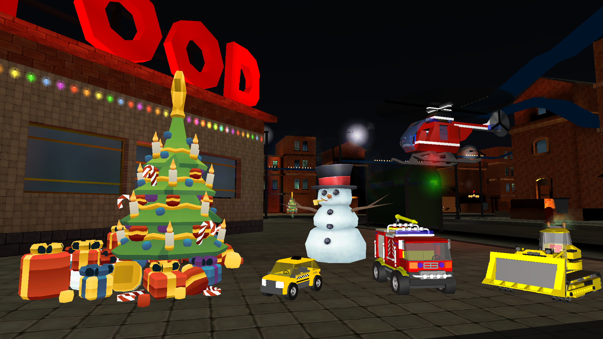 Christmas Toy Cars Simulator for Kids