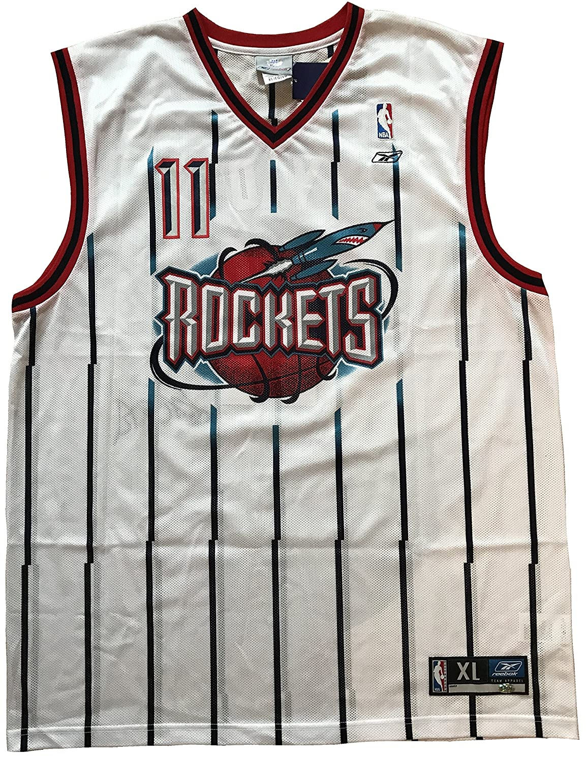 ... Yao Ming AutographedSigned Replica Reebok NBA Houston Rockets Rookie  Jersey at Amazons Sports Collectibles Store ... 00f09d311