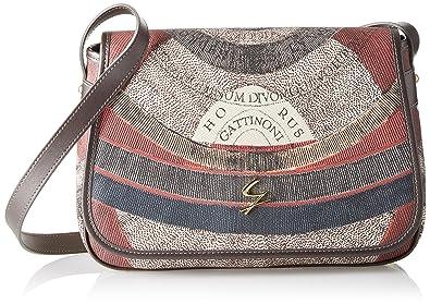 Gattinoni Gplb031, Sacs bandoulière femme, Grigio (Tibetan), 9x20x30 cm (W x H L)