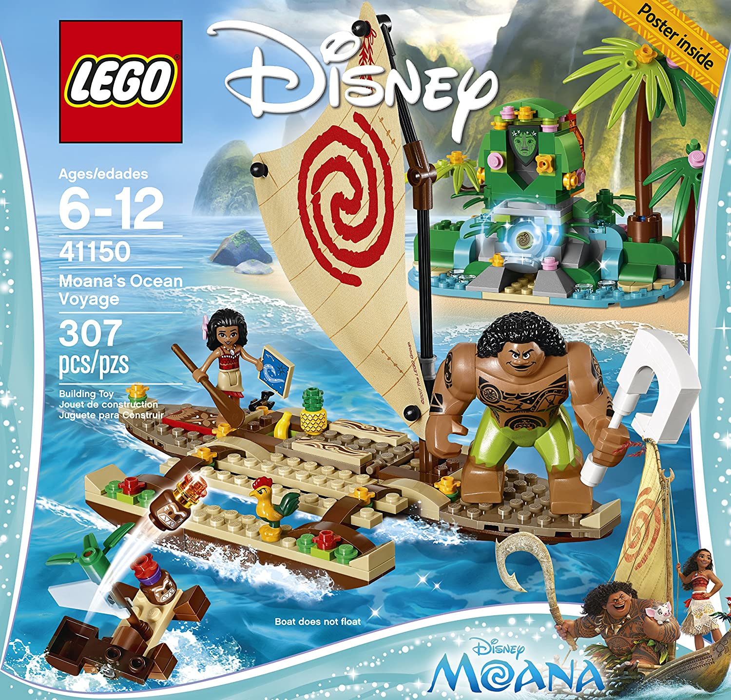 Amazon lego sales on star wars nexo knights moana and for Sejour complet disney