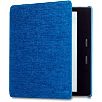 Kindle Oasis Water-Safe Fabric Cover, Marine Blue photo