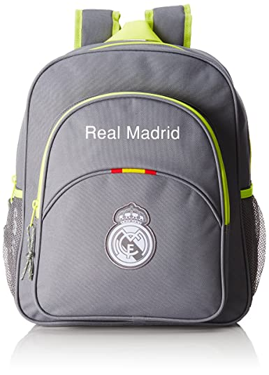 Safta Real Madrid 611554640, Mochila Hombre Tipo Casual, Gris, 20 litros: Amazon.es: Zapatos y complementos