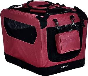 AmazonBasics Premium Folding Portable Soft Pet Dog Crate Carrier Kennel