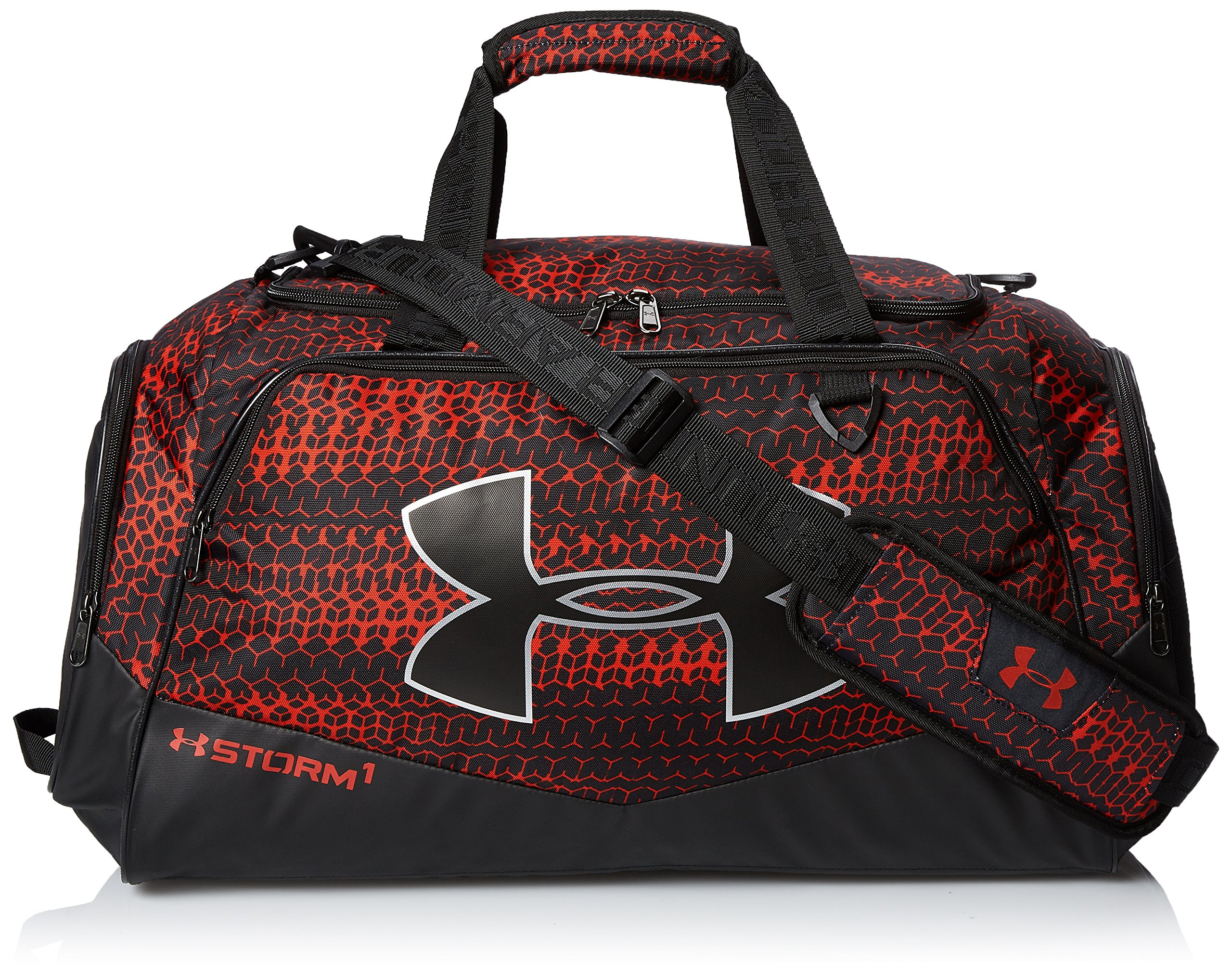 Under Armour Undeniable Duffle 2.0 Gym Bag, Red /Black, Medium by Under Armour
