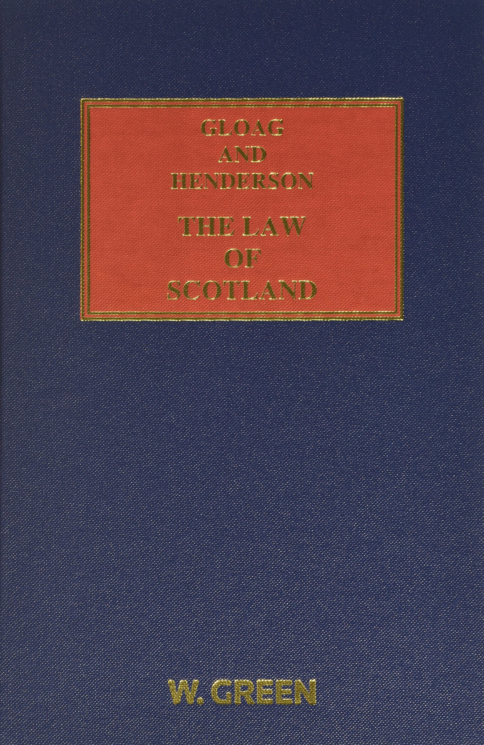 gloag and henderson the law of scotland amazon co uk hector l