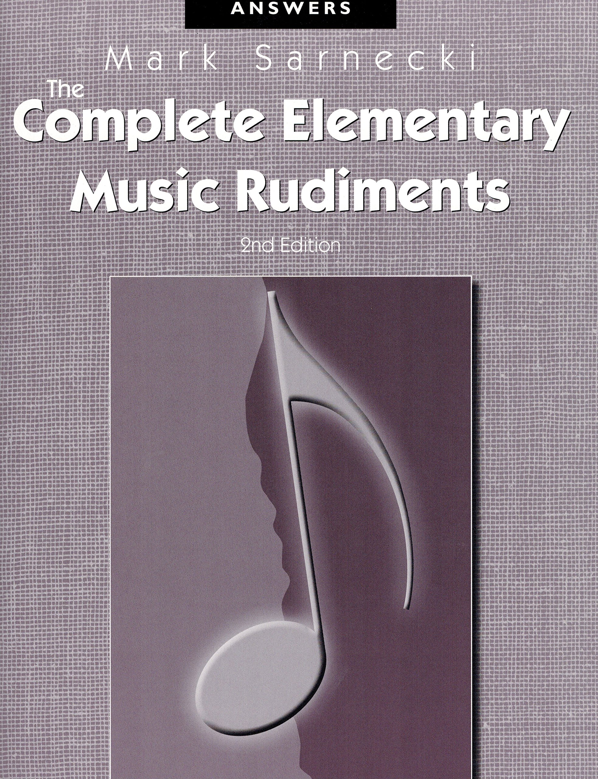 Tscra the complete elementary music rudiments 2nd edition answer tscra the complete elementary music rudiments 2nd edition answer book mark sarnecki frederick harris 9781554402786 amazon books fandeluxe Gallery