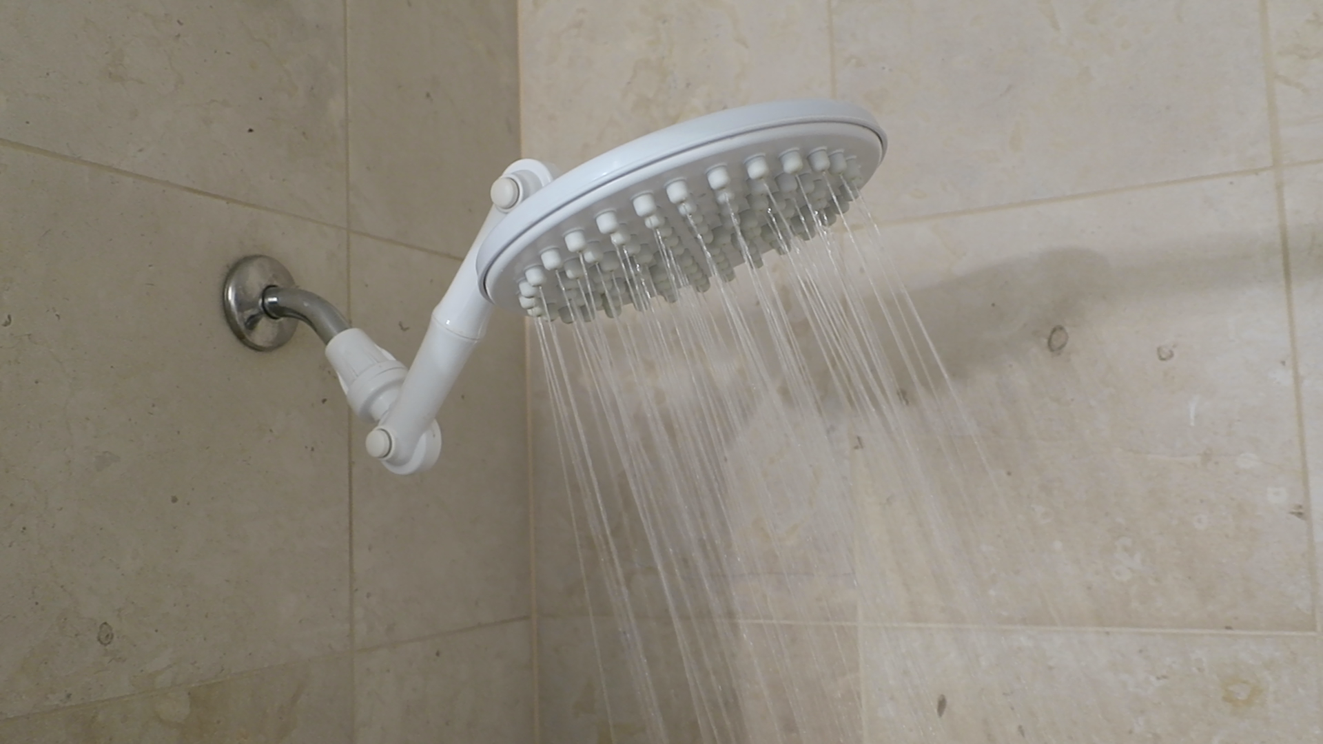 Thunderhead - TH2.5 - High Pressure Rain Shower Head - White - Large ...