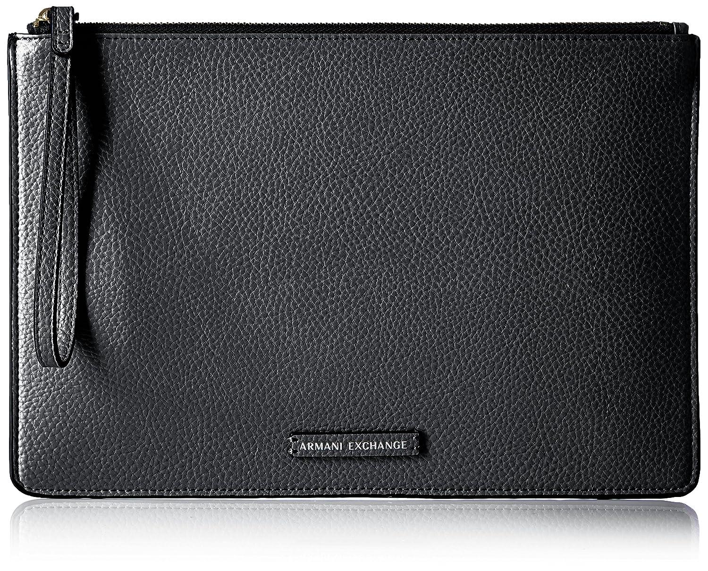194f5c8ed39 Amazon.com  A X Armani Exchange Pouch, Black  Clothing