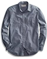 Goodthreads Men's Standard-Fit Long-Sleeve Chambray Shirt