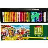 Camlin Kokuyo Oil Pastel + Free 1 Drawing Pencil - 25 Shades