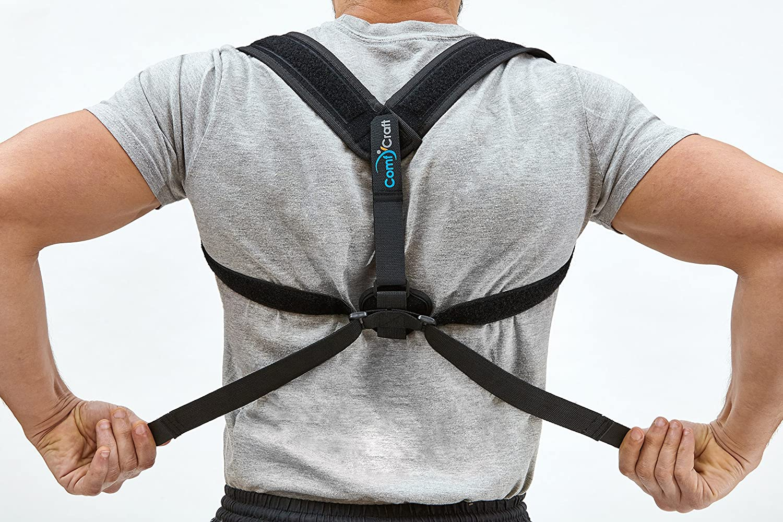 comfycraft Corrector de Postura ortopédicos (negro) espalda y ...