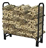 Pleasant Hearth - 32mm Heavy Duty Log Rack, 4 Feet