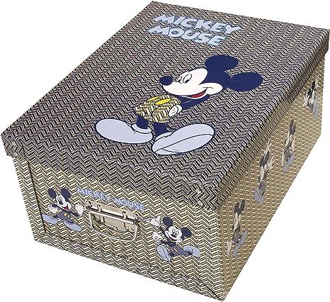 Decoración-cartón Bauli orden cajas Caja de Mickey Mouse: Amazon.es: Hogar