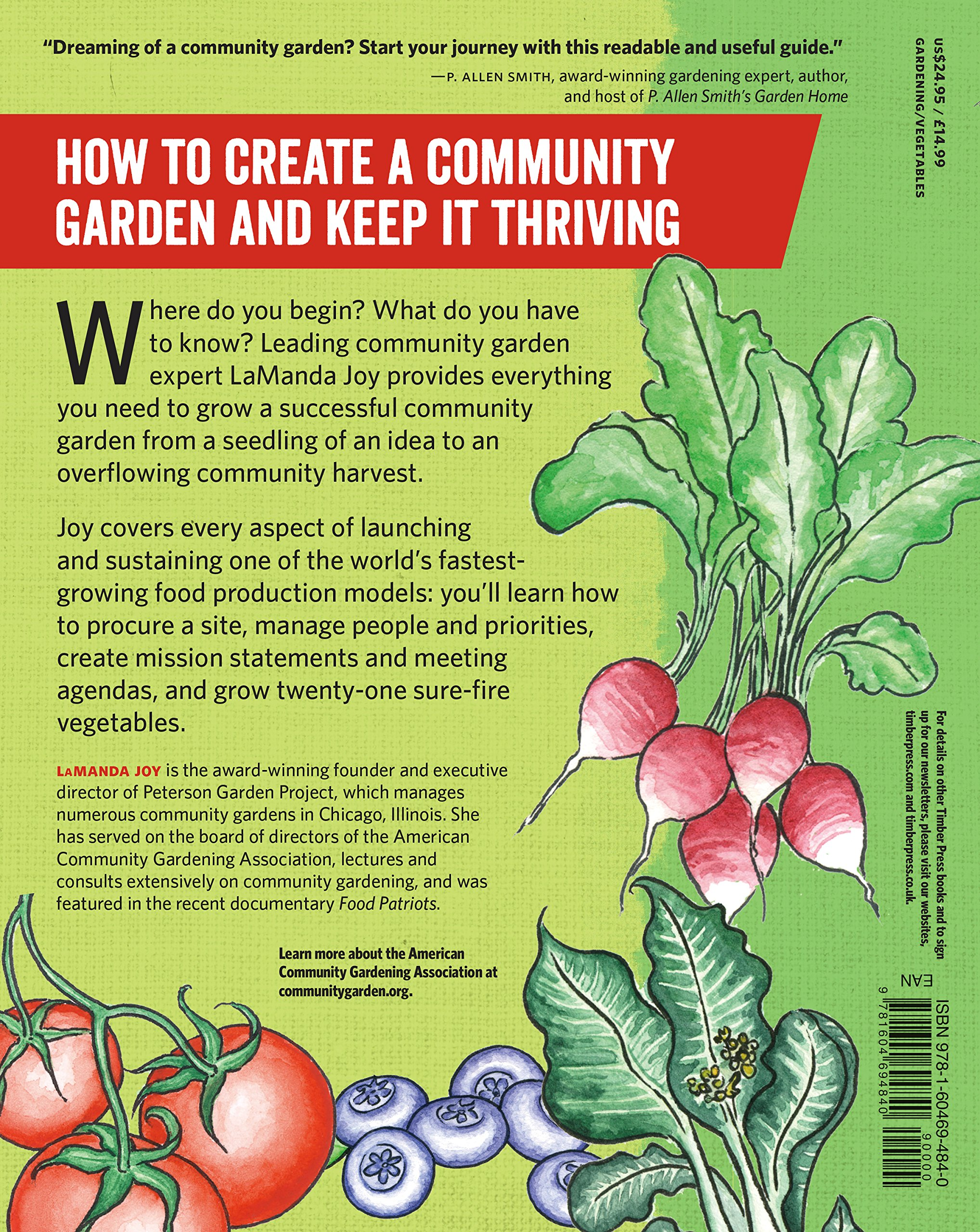 Start A Community Food Garden: The Essential Handbook: LaManda Joy:  9781604694840: Amazon.com: Books