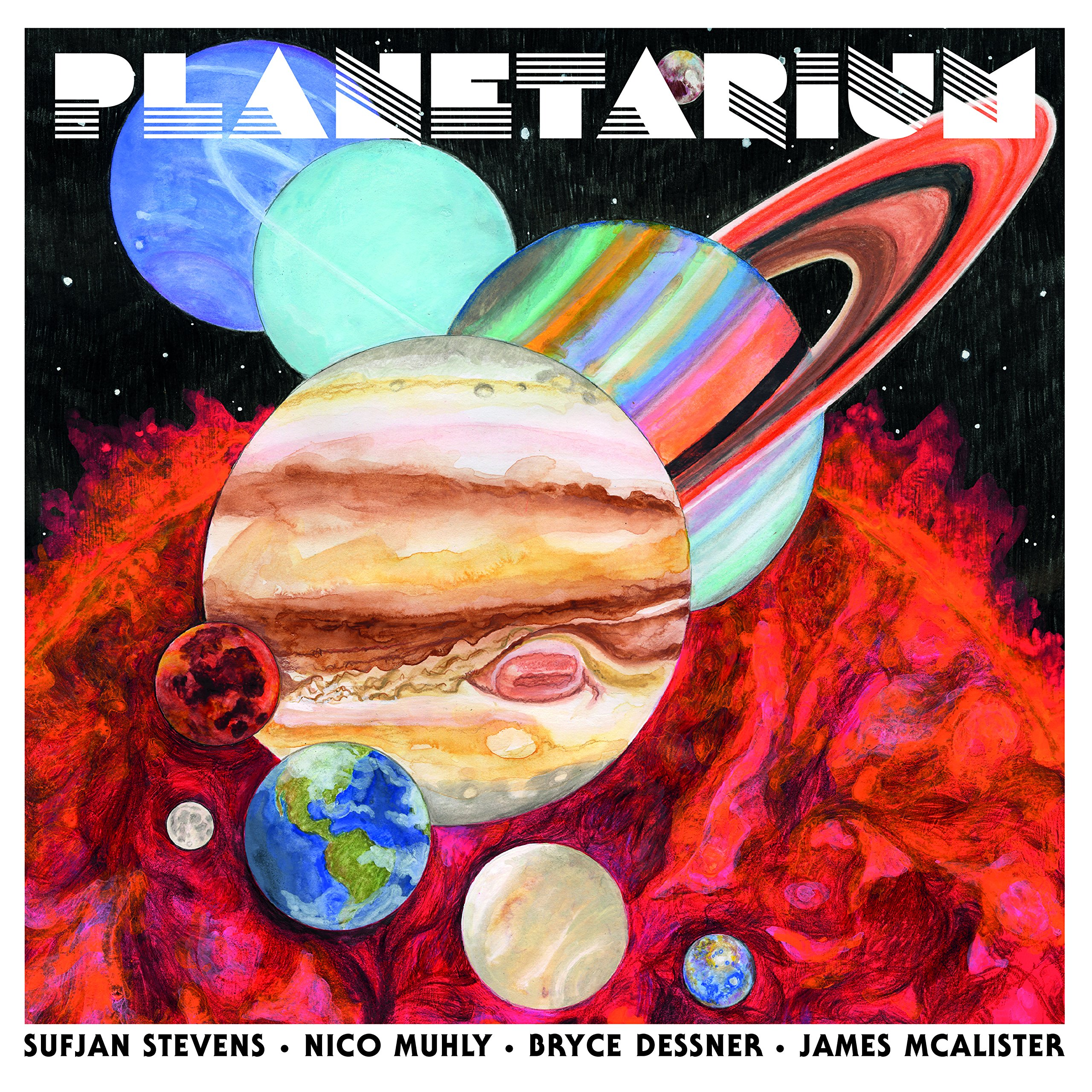 Stevens / Dessne /  Muhly / McAlister - Planetarium (CD)