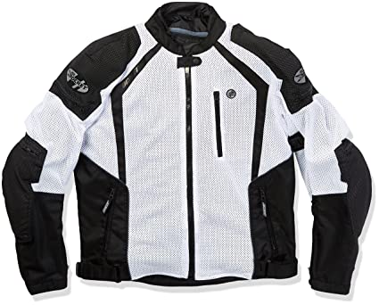 uk availability factory price well known Joe Rocket 1516-4704 Phoenix Ion Men's Mesh Motorcycle Jacket (White, Large)