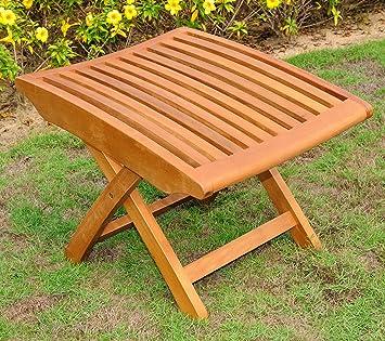 Balau Wood Patio Folding Foot Rest