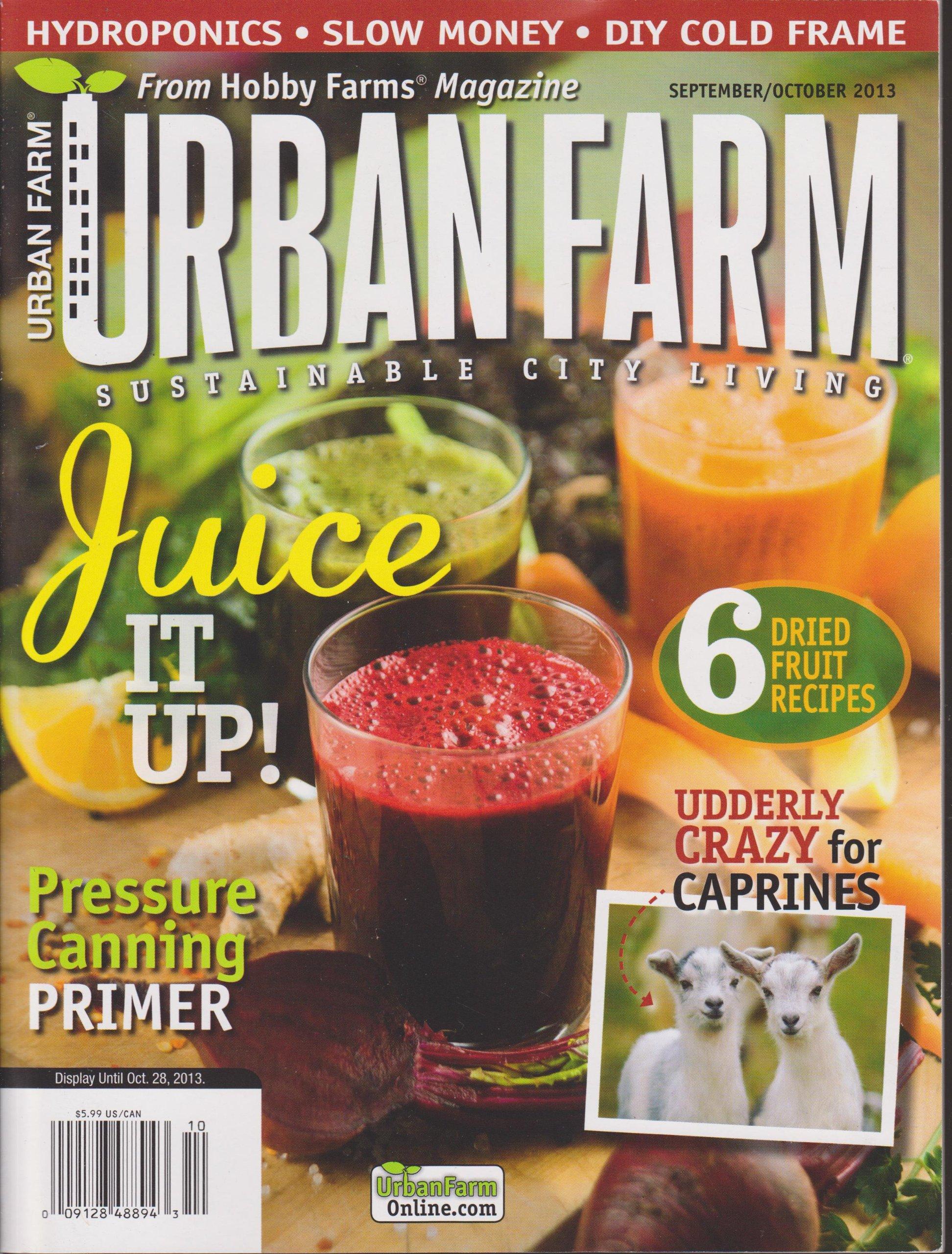 Read Online Urban Farm Magazine September/October 2013 pdf