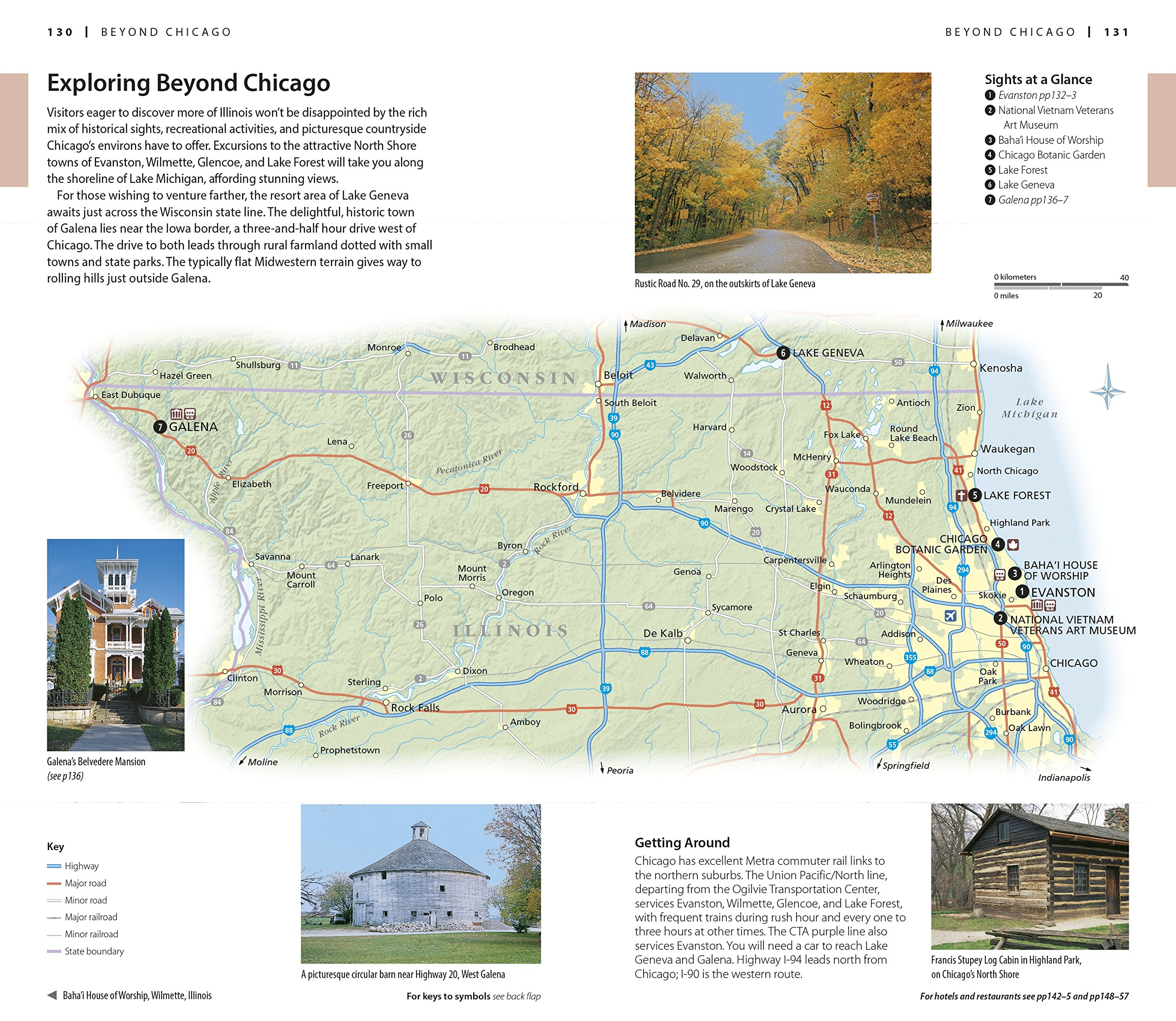 DK Eyewitness Travel Guide Chicago Eyewitness Travel Guides – Chicago Travel Map
