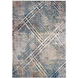 Safavieh Monray Collection MNY656E Blue and Multi Area Rug (4' x 6')