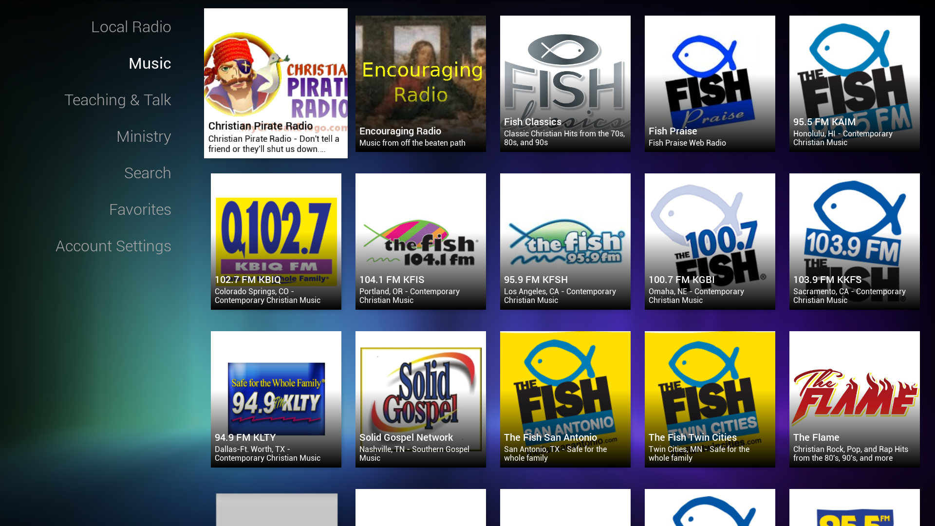 Amazon Christian Radio Appstore For Android