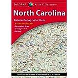 DeLorme Atlas & Gazetteer: North Carolina (North Carolina Atlas and Gazetteer)